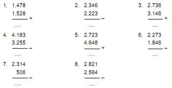 Soal Matematika Kelas 3 Bab 2 \u2013 Operasi Hitung Penjumlahan dan Pengurangan  Kumpulan Soal