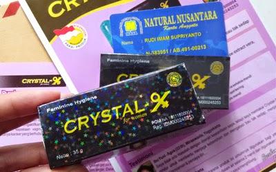 Ciri Crystal X Asli