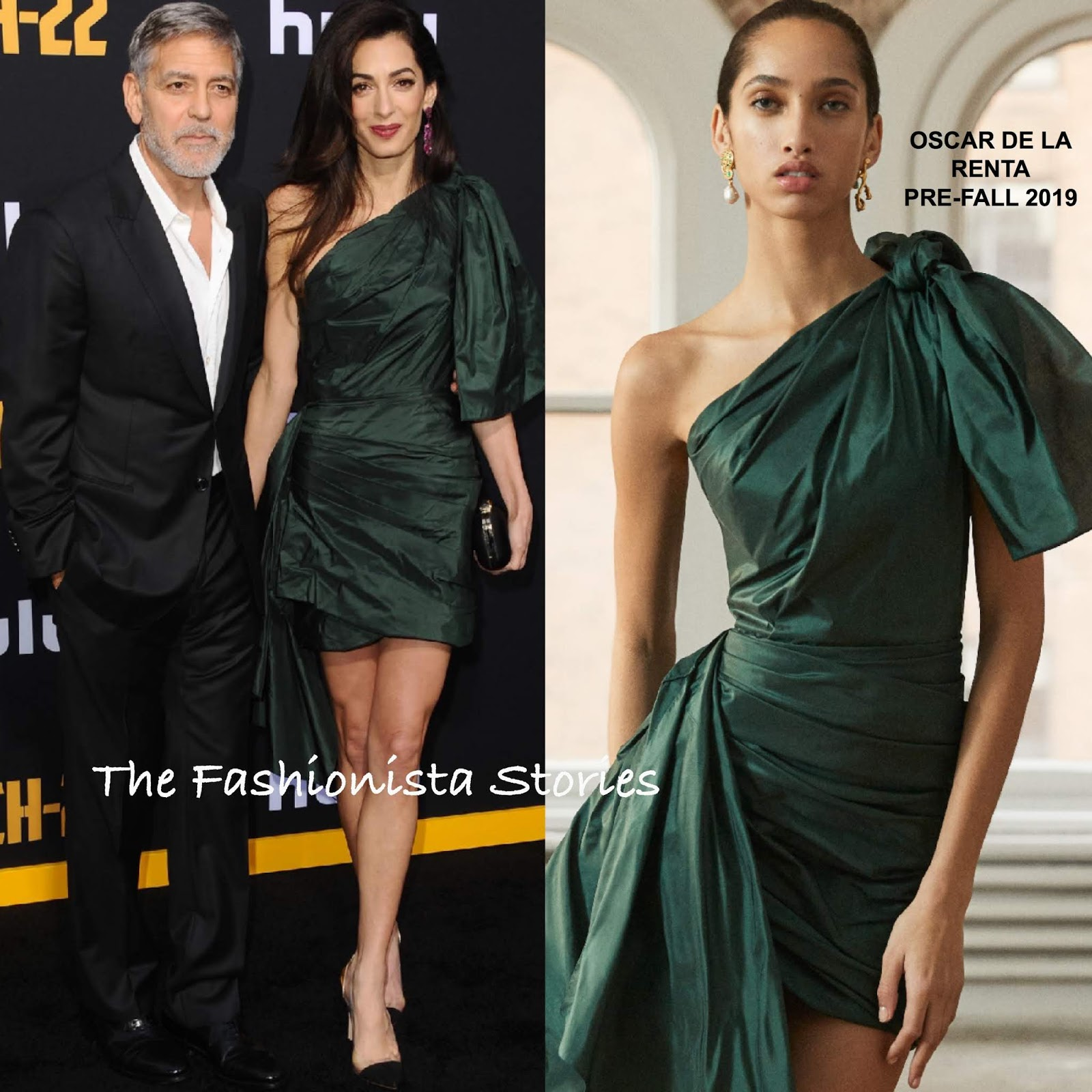George & Amal Clooney at the Hulu 'Catch 22' LA Premiere