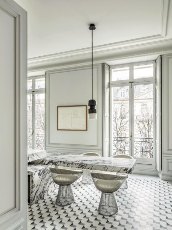 Luxurious palatial Paris apartment renovation by Joseph Dirand on Montaigne Avenue
