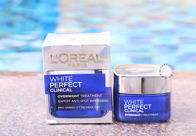 White Perfect Clinical Overnight Treatment review