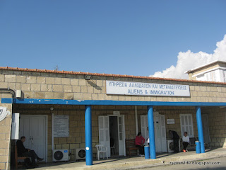 Immigration Office in Larnaka, Cyprus