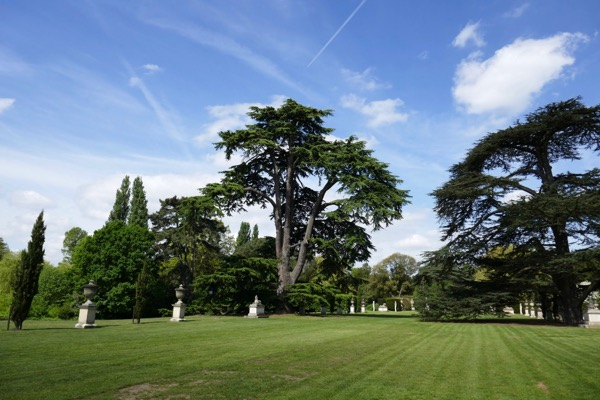 Chiswick House grounds London