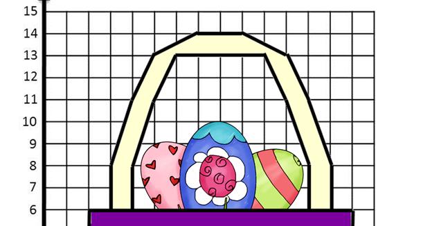Bayside Math Teacher Freebie Easter Co Ordinate