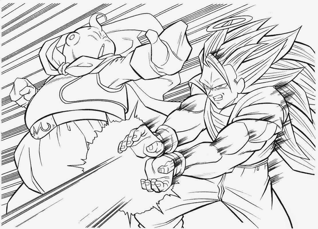 Desenhos Para Colorir E Imprimir Desenhos Do Dragon Ball