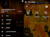 BBM MOD v3.0.1.25 Ghost Day Halloween  APK Update 2016 Gratis