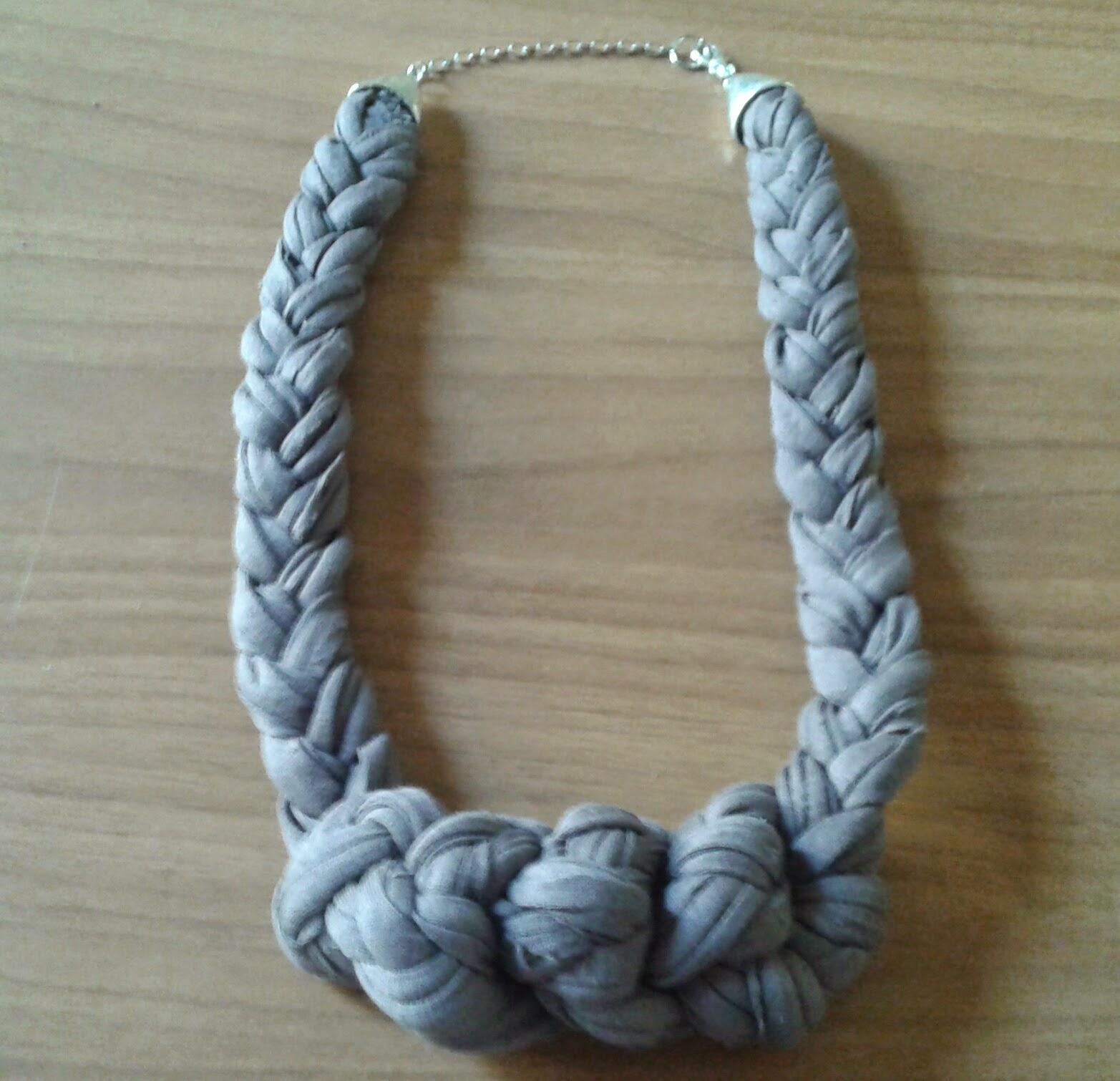 Molto Come fare collane con la fettuccia ~ Centomilaidee CG26