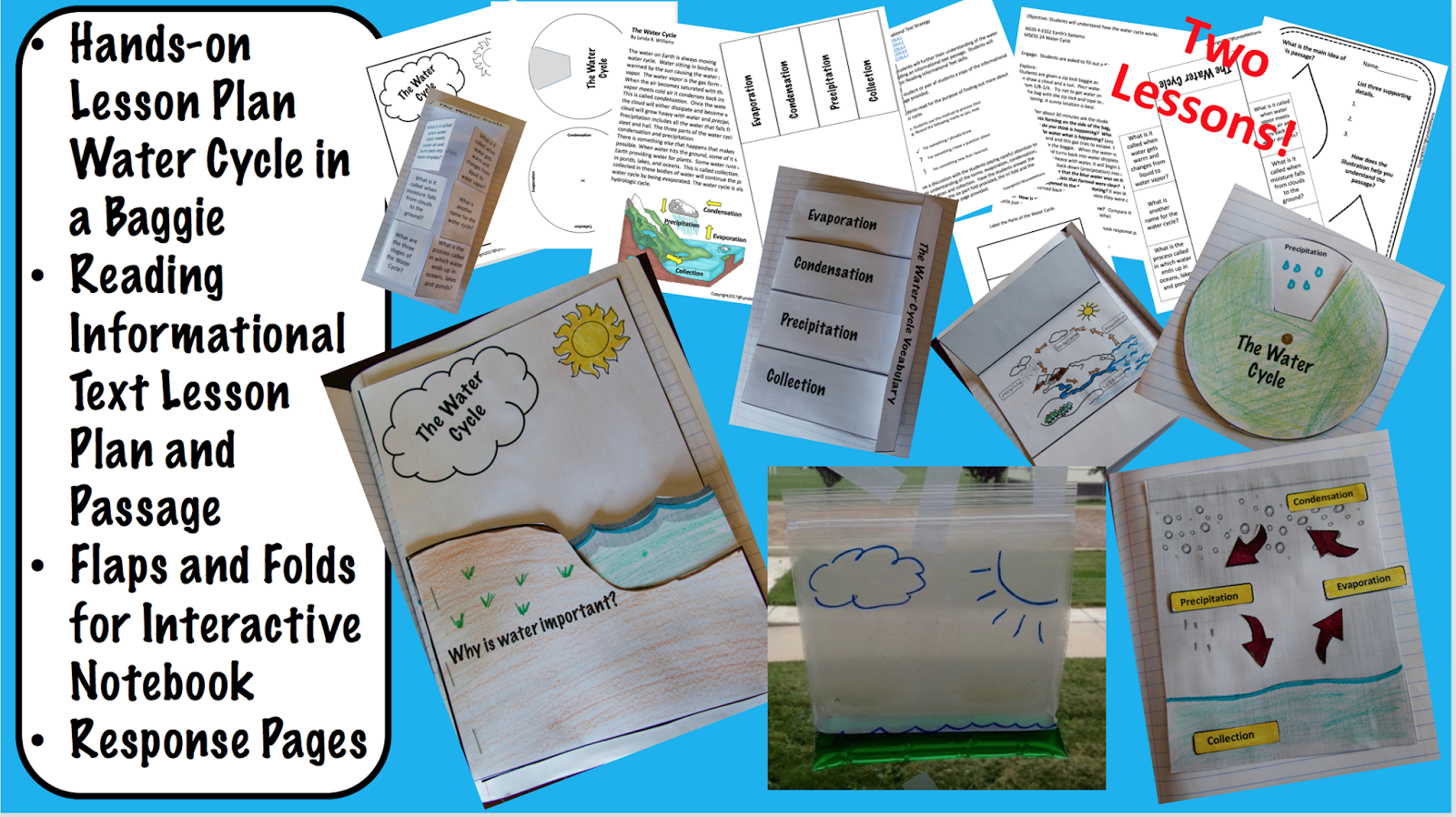 Purchase In A Bundle With Other Exciting Lessons And Save 20 Water Cycle Bundle 20 Off