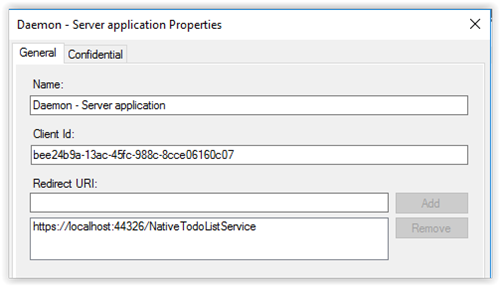 Random thoughts and collisions: ADFS : Daemon and Web API on Server
