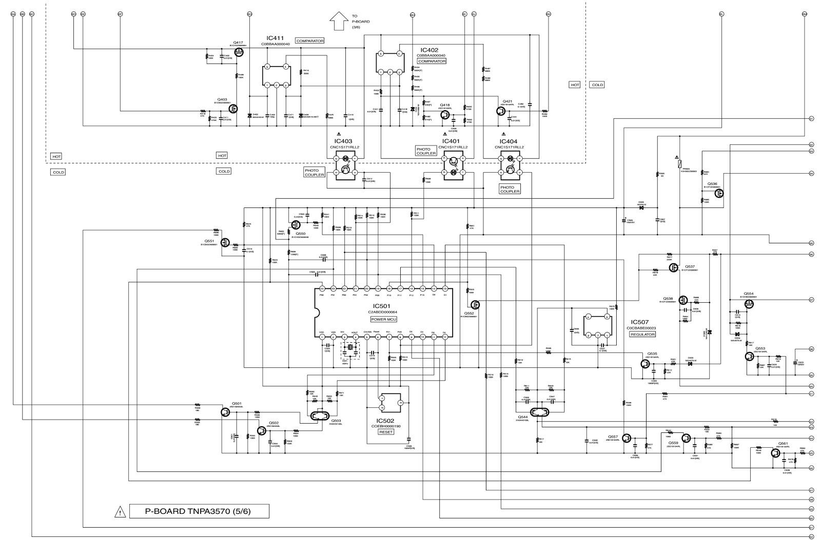 Hannspree Power Board Schematic Circuit Diagram on
