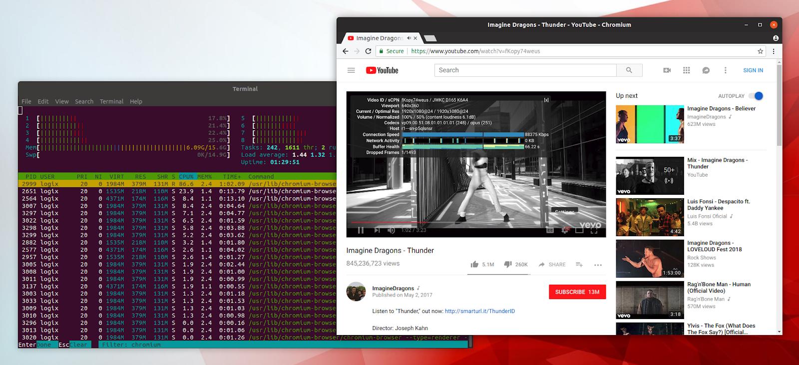 download google chrome linux command line