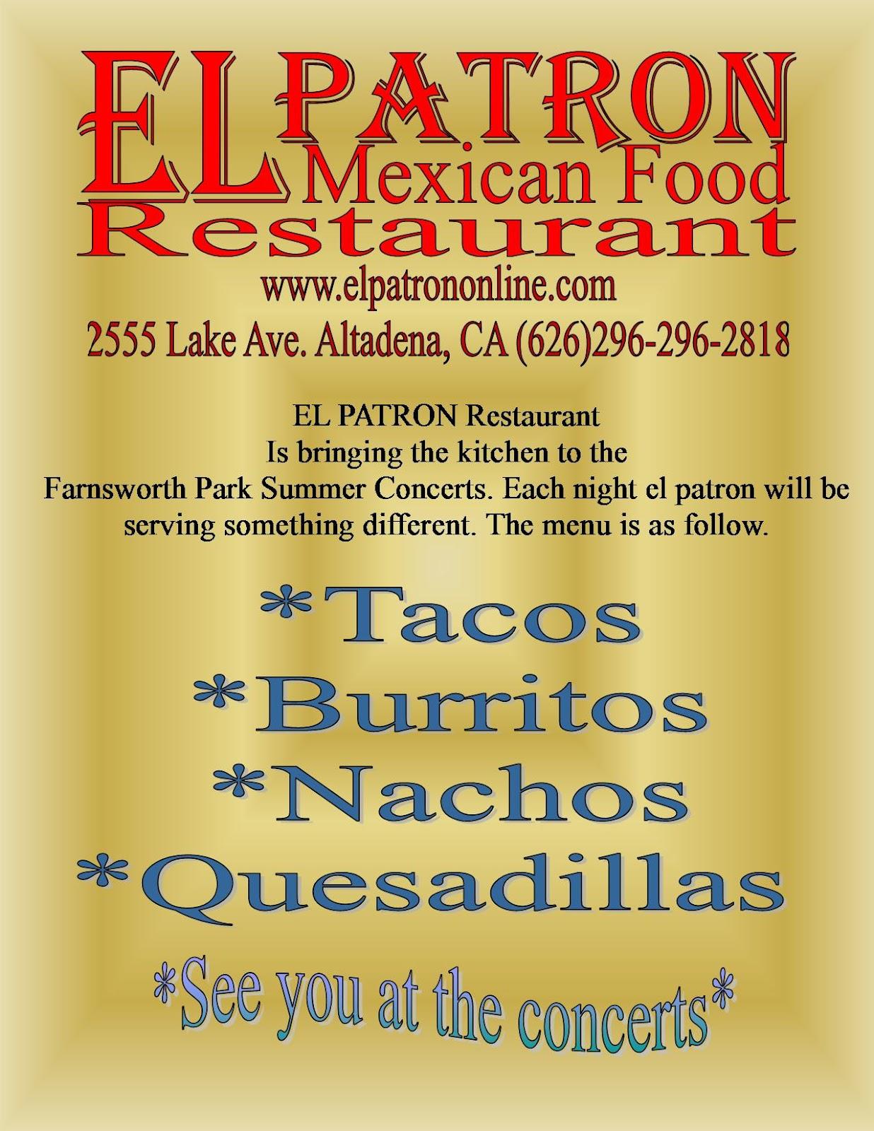 El Patron Mexican Restaurant Altadena