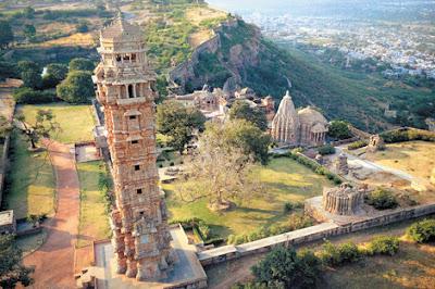 Vijay Stambh at Chittorgarh Fort, heritageofindia, Indian Heritage, World Heritage Sites in India, Heritage of India, Heritage India