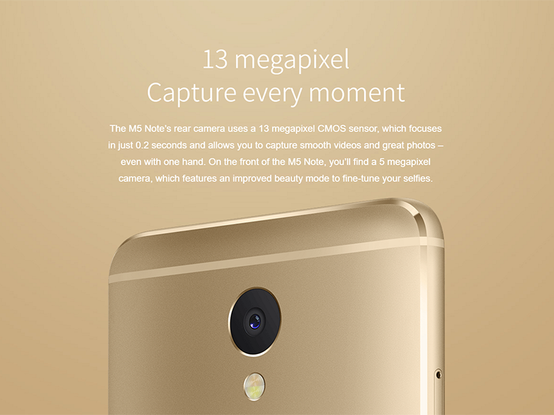 Meizu has silently listed the beefier chiliad Meizu M5 Note Goes Live In PH, Price Starts At PHP 9990!
