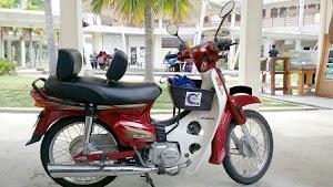 Penyandar Kreatif Untuk Penunggang Motosikal