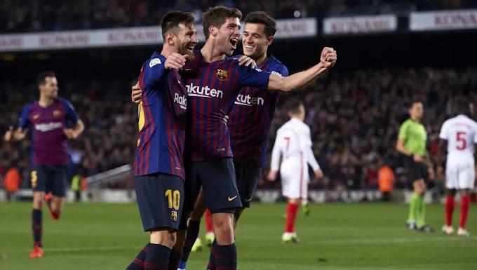 Barcelona Mengamuk di Camp Nou