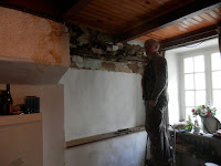 renovating an old house in Brittany, France