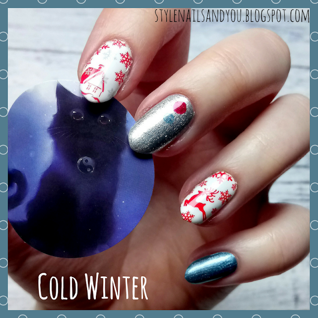 Cold Winter   12 Winter Water Decals   Born Pretty Store Review