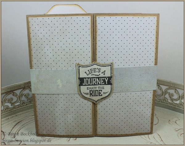 Z-Gate-Tag Fold Card, Besondere Kartenform, Stampin up