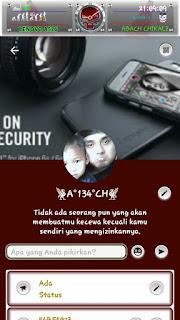 BBM Mod Red Maroon v3.0.1.25 Apk