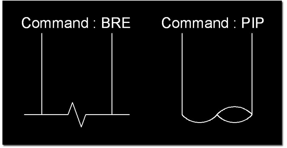 Cad Lisp and Tips: Lisp : Break Line & Pipe End