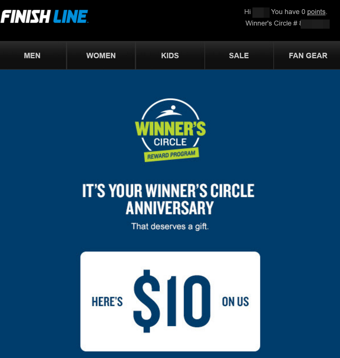 photograph relating to Finish Line Printable Coupons named Entire line winners circle coupon code / Least difficult starwood lodges