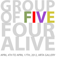 GROUP OF FIVE FOUR ALIVE