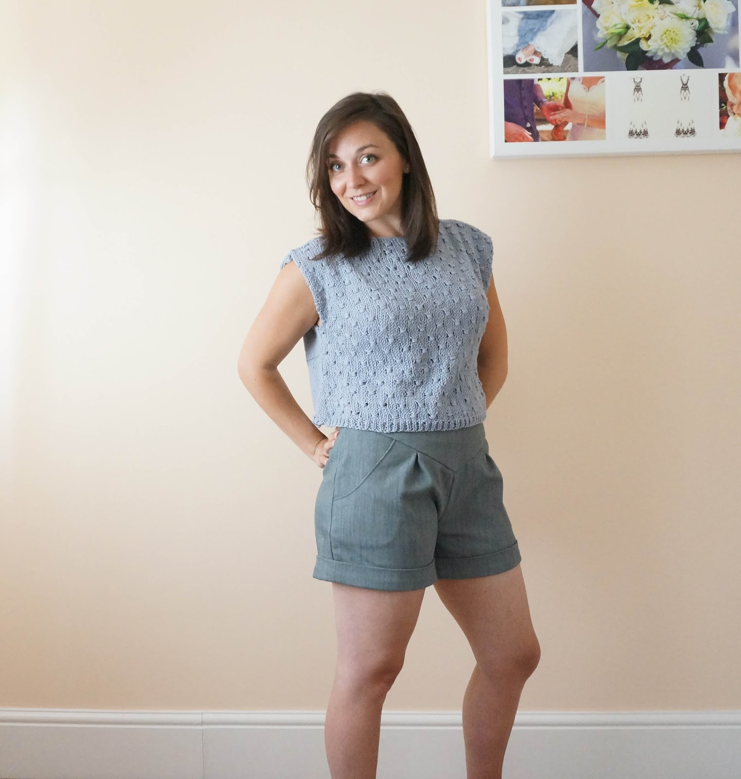 We Are Knitters kit review from a beginner knitter Lemon Tee