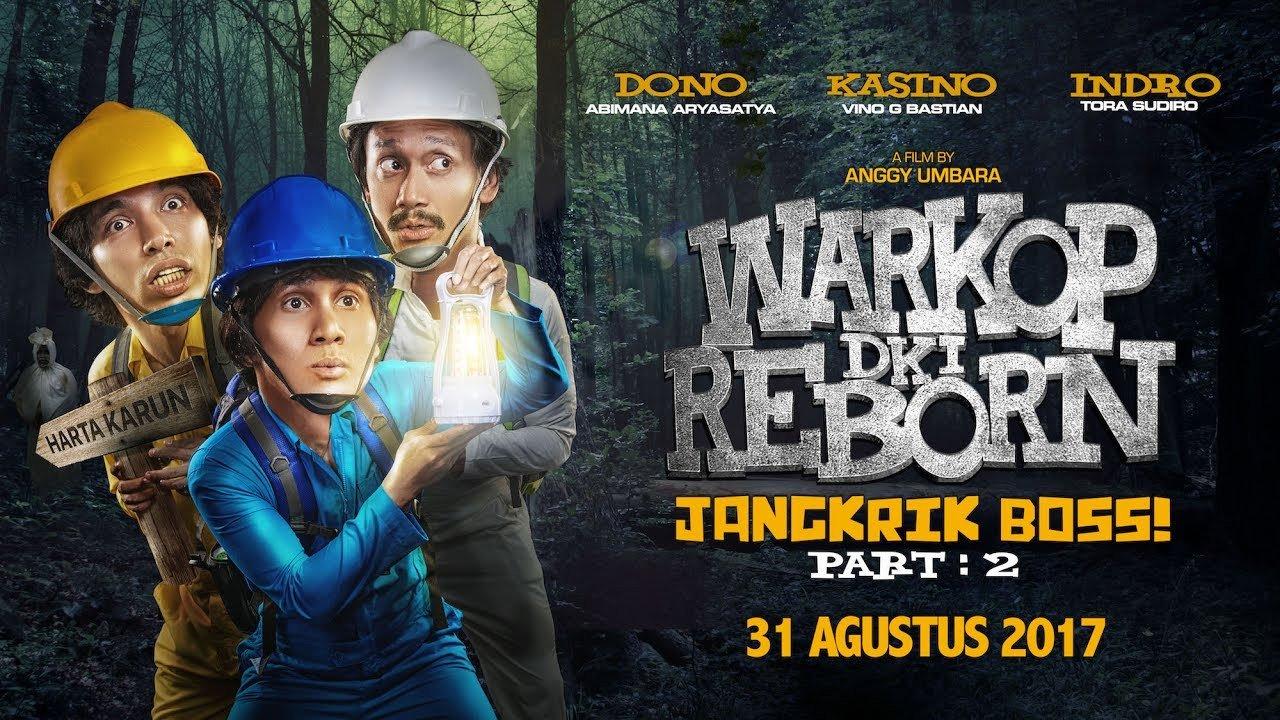 Download Film Warkop DKI Reborn: Jangkrik Boss Part 2 Full Movie Mp4 (2017)