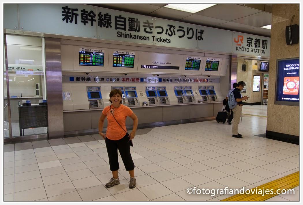 estación de tren shinkansen