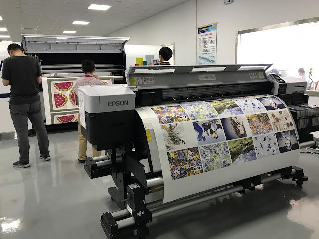 Epson range of dye sublimation solutions with sublimation