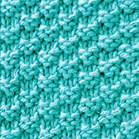 Double  Moss Stitches. Basic Knitting Stitches. A fun and easy to memorize stitch pattern.