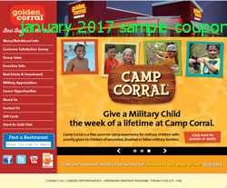 Golden Corral Coupons