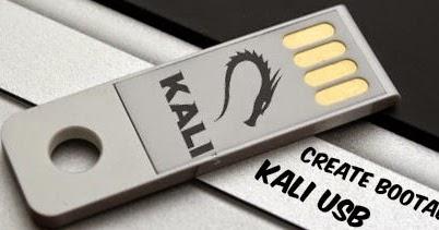 install kali linux on usb