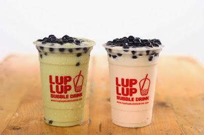 usaha bubble drink franchise lup lup bubble tea