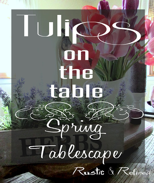 French inspired spring tablescape