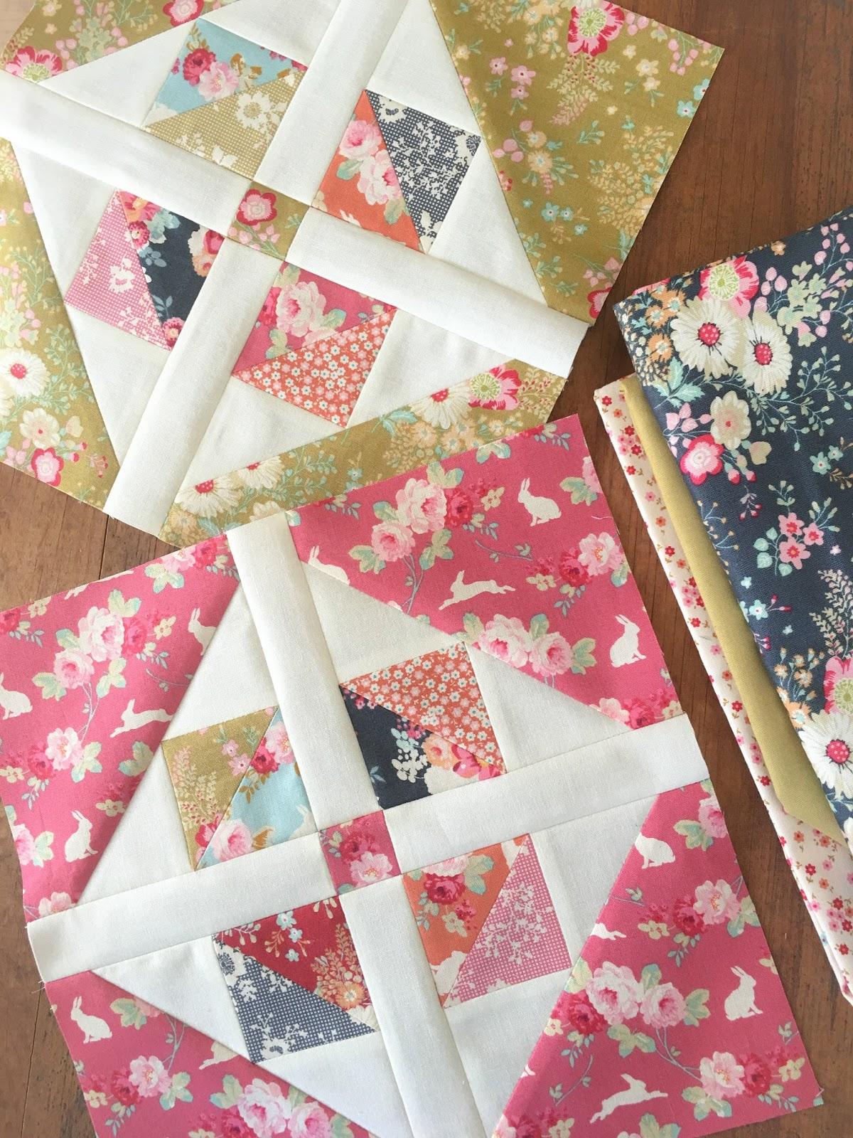 Carried Away Quilting: Window Garden pattern: Making a layer cake quilt using fat quarters