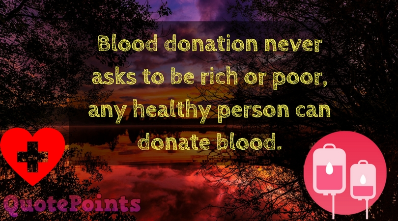blood donation poster design