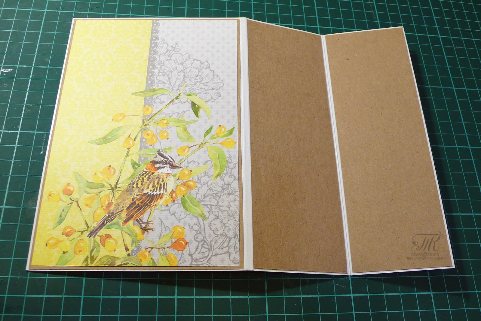 Картинки, открытка гармошка из скрапбукинга