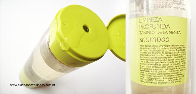 Shampoo Limpeza Profunda Natura Plant