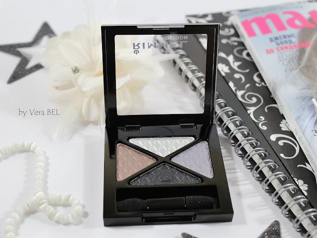 Eyeshadow Rimmel Glam'Eyes Quad Eye Shadow in shade # 023 Beauty Spells