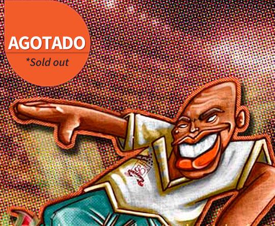 Poster Diablo Rojo