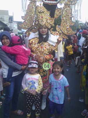 Menikmati Pasuruan Carnaval Fashion 2017 Di Pandaan