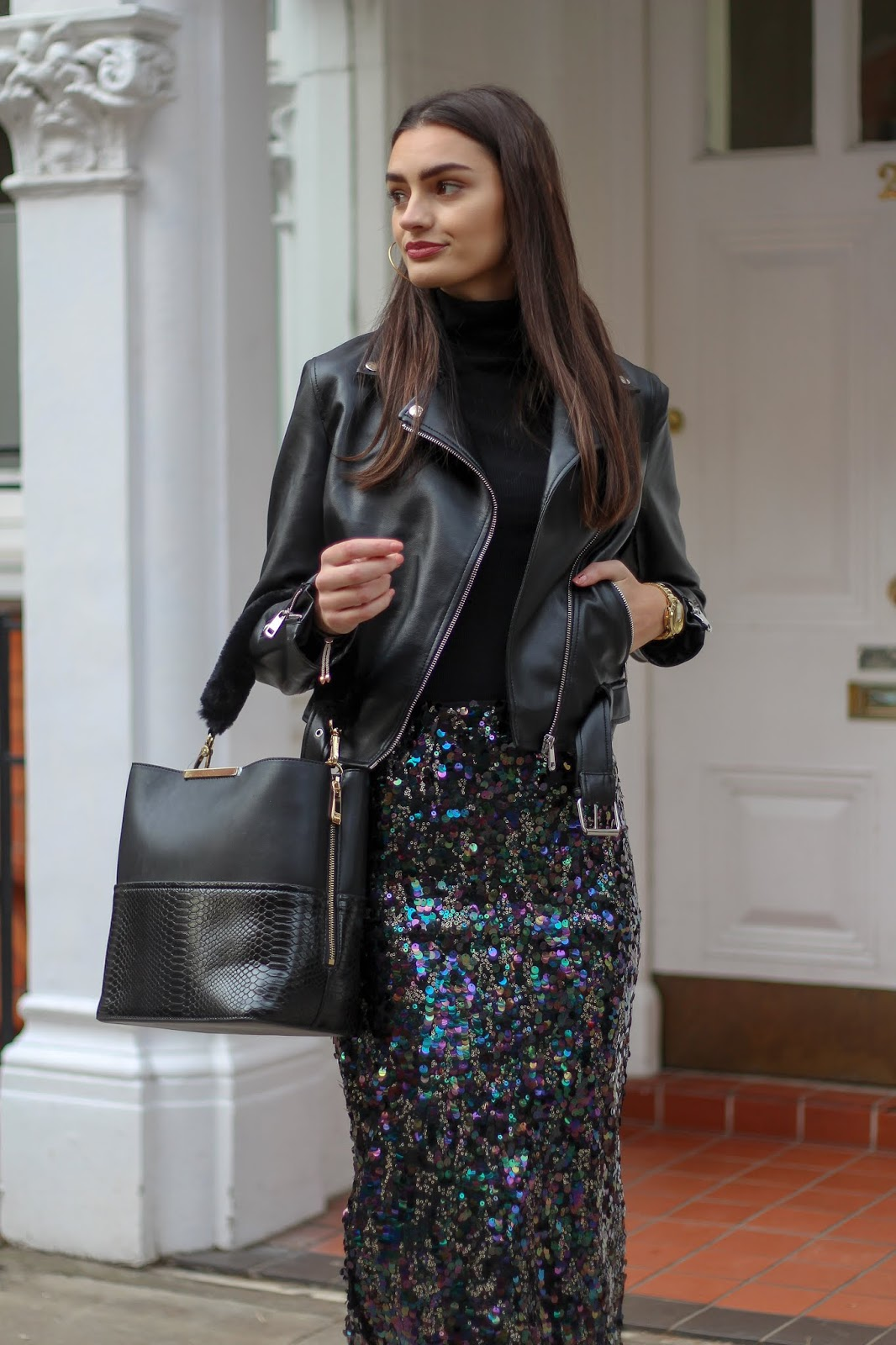 how to style sequins casually