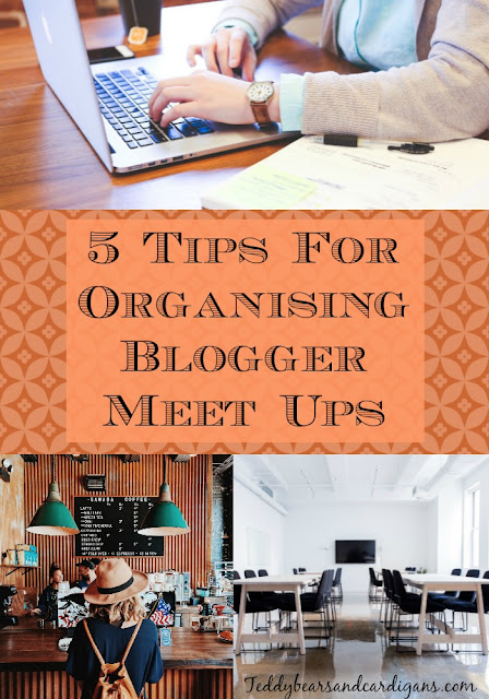 5-Tips-For-Organising-Blogger-Meet-Up-collage-of-image-of-coffee-shop-women-and-laptop-a-conference-room