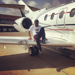 Finally Davido reacts to question on his ownership of a private jet