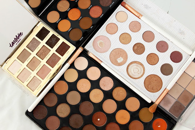 Warm Toned Eyeshadow Palettes, Eyeshadows