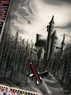 Zamek w suchym lesie