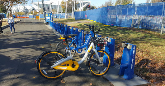 oBikes in Melbourne - first impressions