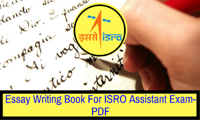 essay writing book for isro assistant exam pdf bank exams today essay writing book for isro assistant exam pdf